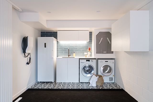 The Block Nz Garage And Laundry Week Laundry Room Lighting Laundry Room Laundry