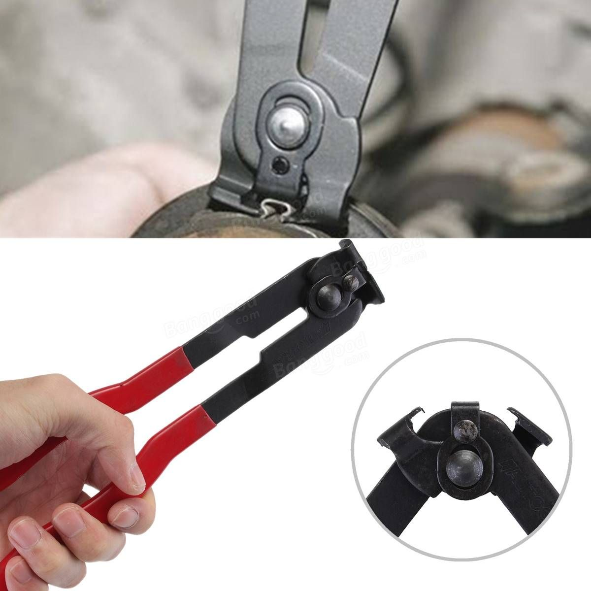 Ear Type CV Joint Boot Clamp Plier Installer Tool For Fuel & Coolant ...