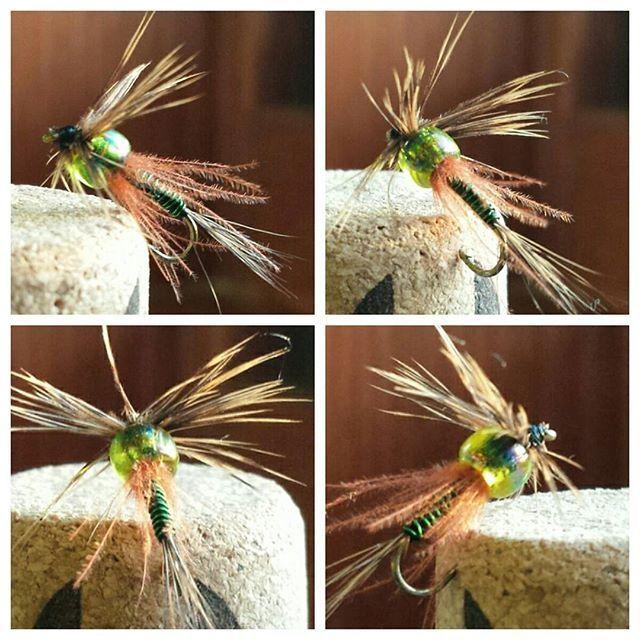 #flytying #flyfishing #nymph