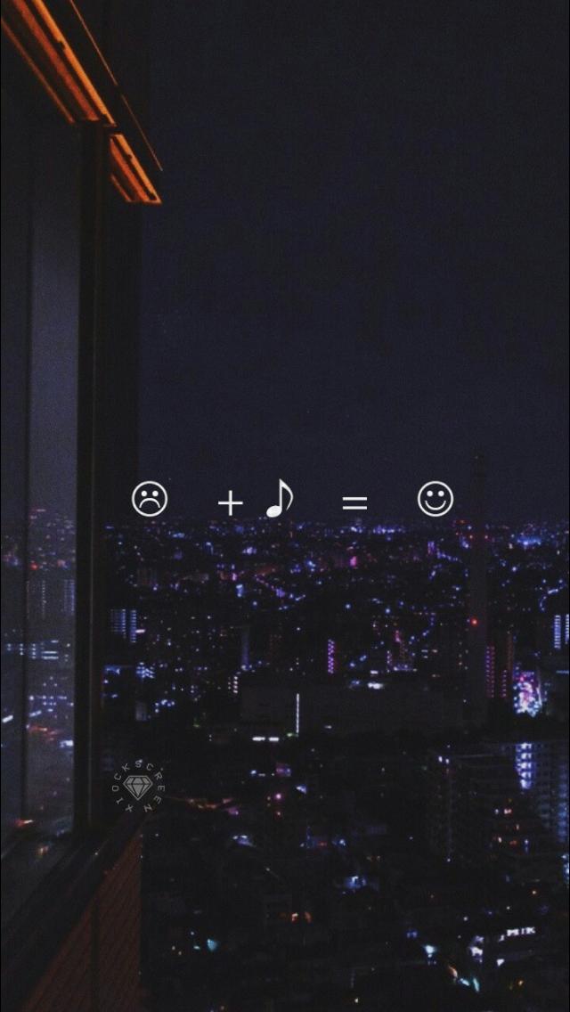 Sad Me + Music = Happy Me (:D) 😁 | Mah life Music | papeis de parede para iPhone, Papel de ...