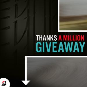 Win a Set of Bridgestone Tires