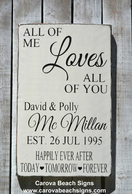 Love Plaques Quotes Captivating Wedding Signs Rustic Hand Painted Anniversary Gifts Wooden