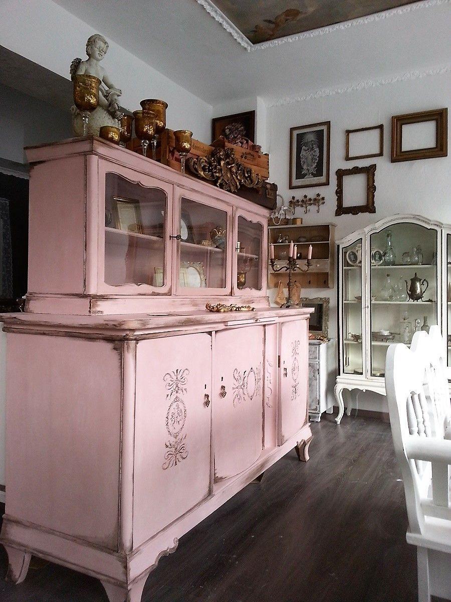 Altrosa Berta Ein Engeln Madchenbuffet Mit Patina Wachsakzentuierungen Berta Ein Madchenbuffet In Altrosa Mit Engeln Patina Wachsak In 2020 Pink Furniture Decor Buffet