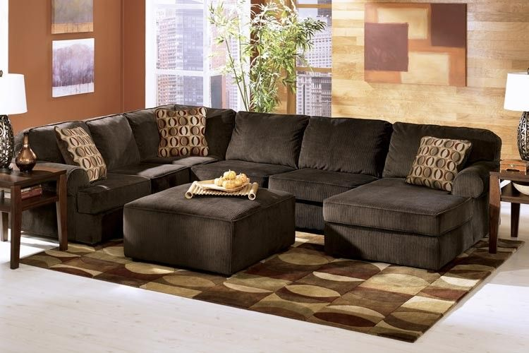 Loft option ashley vista sectional chocolate sectionals raleigh furniture home comfort Home comfort furniture outlet raleigh nc