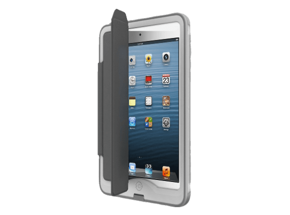 Lifeproof Ipad Mini Case Portfolio Cover Stand Nuud Gray 1446 01 Ipad Mini Case Ipad Mini Portfolio Covers