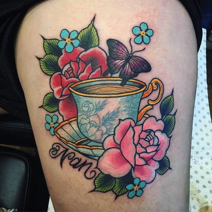 Found On Google From Pinterest Com Mom Tattoos Teacup Tattoo Teapot Tattoo