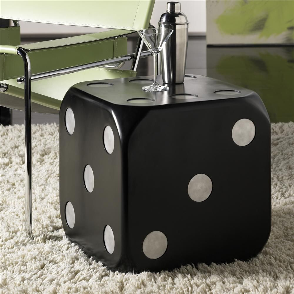 Must Have This End Table Hidden Treasures Dice End Table By Hammary Gardiners Furniture