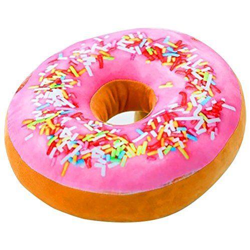Diy No Sew Donut Pillow Donut Pillow Donut Cushion Plush Pillows
