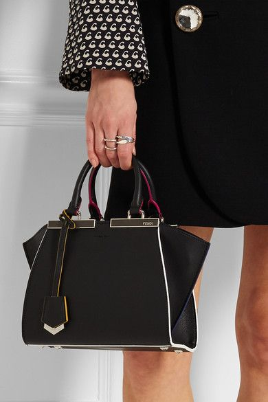 a251bc34651 Fendi | 3Jours mini textured-leather tote | NET-A-PORTER.COM | Bags ...