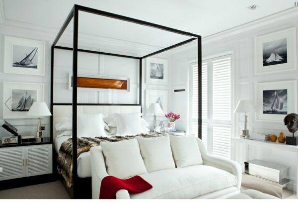 Luis Bustamante-Design Studio-Schlafzimmer Himmelsbett | NYC ...