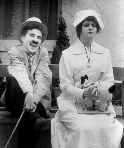 Charlie and Leota Bryan in The Cure c.1917