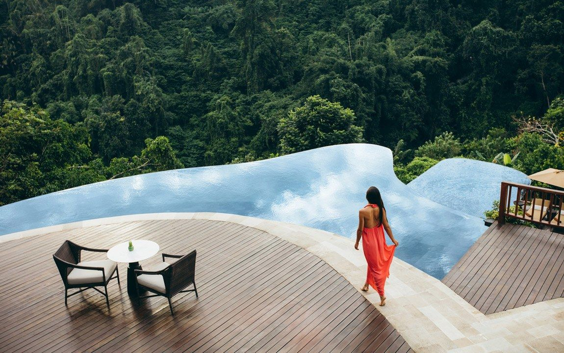 10 Of The Craziest Pool Designs In The World With Images Ubud