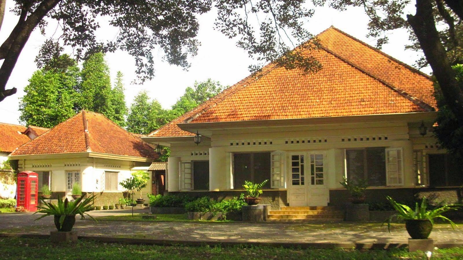 Desain Rumah Zaman Kolonial Belanda  COLONIAL HOUSES  INDONESIA  Desain rumah Rumah dan
