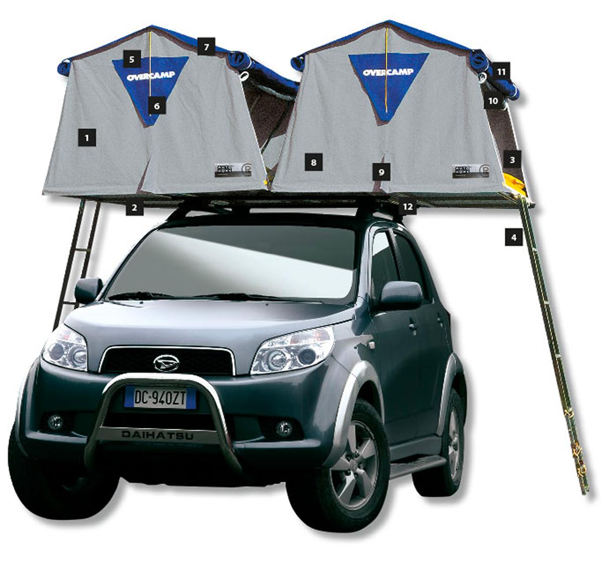 The Overcamp Roof Top Tent Roof Top Tent Top Tents Tent