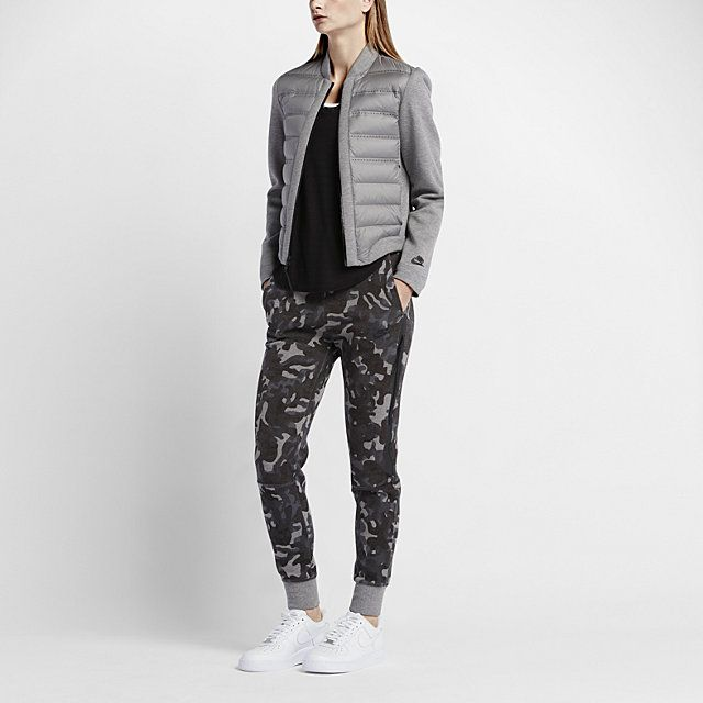 Nike Tech Fleece Aeroloft Bomber Women's Jacket.