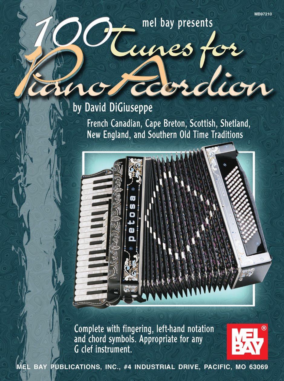 �00 Tunes for Piano Accordion , sponsored, Piano,