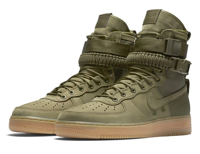 air force 1 verde militare