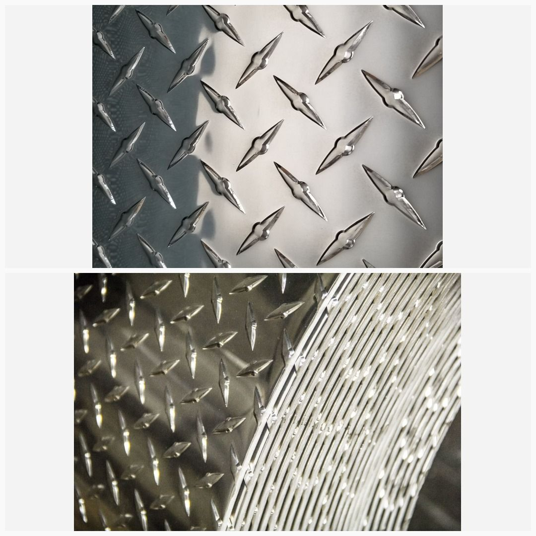 3003 Aluminum Diamond Tread Plate Sheet 0 125 X 12 X 36 Diamond Plate Aluminum Plates