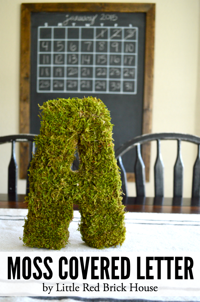 Moss Covered Letters Brilliant Moss Covered Letter  Moss Covered Letters Bricks And House Inspiration