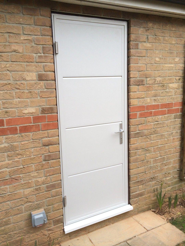 entry exterior biz garage ideas steel door ideasgarage themiracle remodel side withw