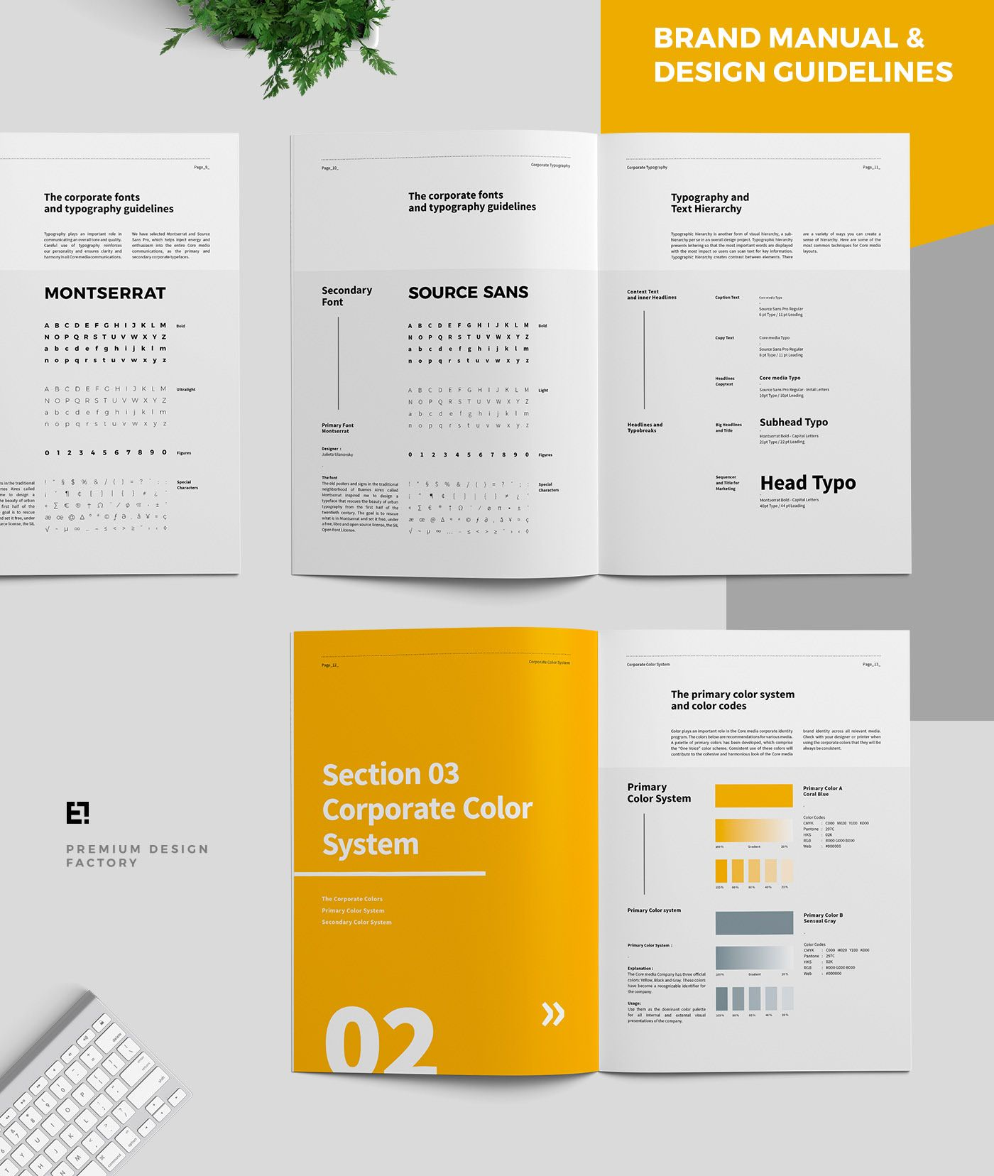 Core Brand Manual & Guidelines