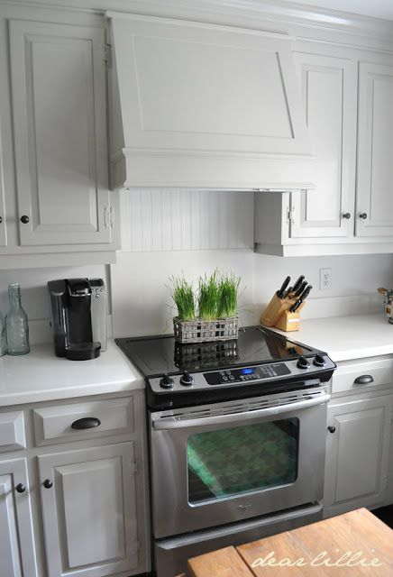 Kitchen Vents Mixer Machine Our Makeover On A Budget Phase 1 By Dear Lillie For The