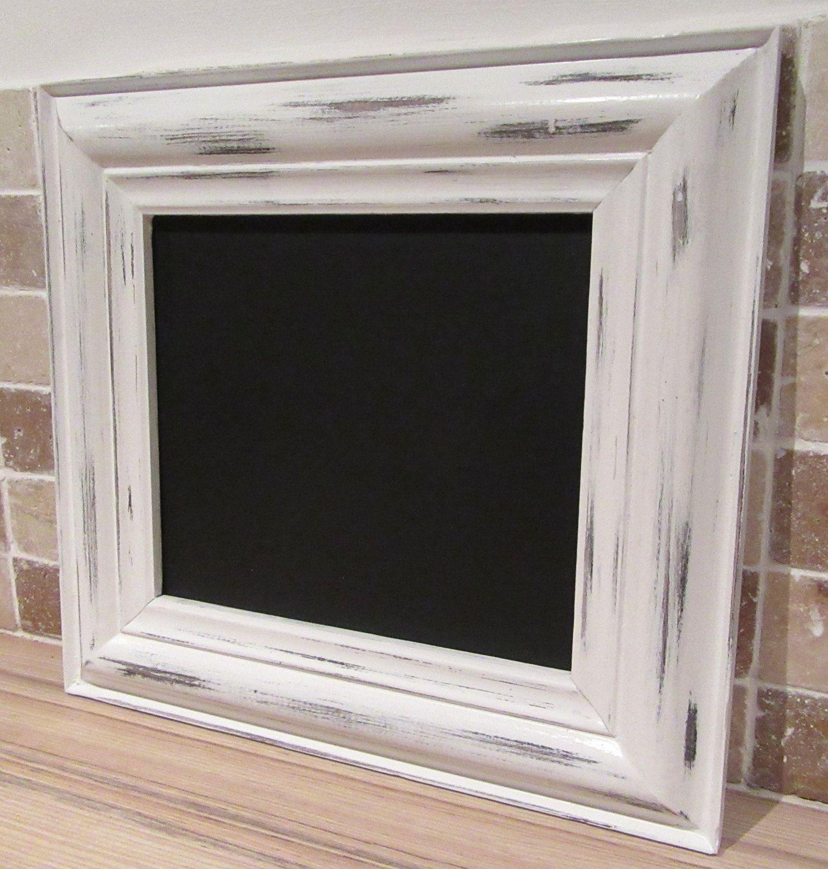 Black Framed Chalkboard Blackboard Memo Wedding Kitchen Notice Board
