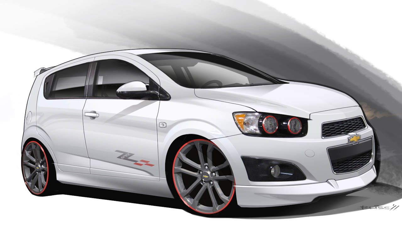Chevrolet Sonic Z Spec 2 Concept Artists Rendering Photo 426134 S Original Jpg 1 280 782 Pixeles Autos Deportivos Autos Carro Deportivos