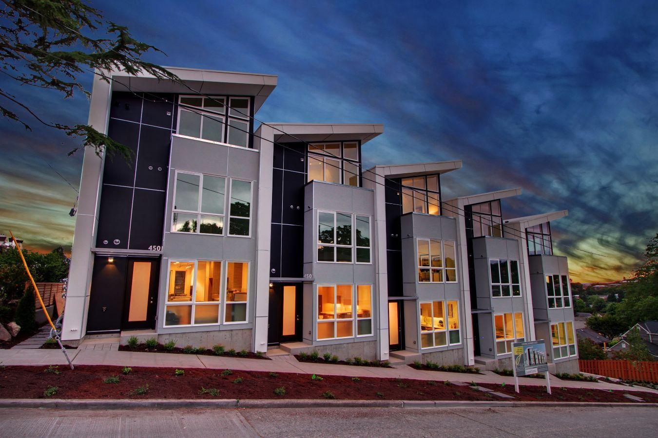 Resultado de imagen para diseño townhouse | Adosados | Pinterest ...