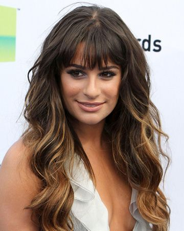 Miraculous 20 Lea Michele Hairstyles Celebrity Hairstyles With Pictures Natural Hairstyles Runnerswayorg