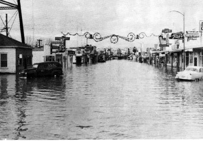 Yuba City Flood 1955 Yuba City California Yuba City California Dreamin