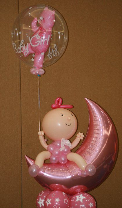 Baby Shower arrangement Sin City Balloons, Party Planners  Services