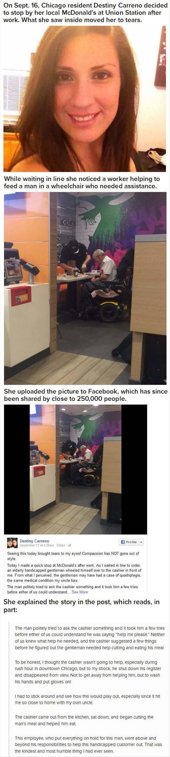 Faith In Humanity Restored – 3 Pics