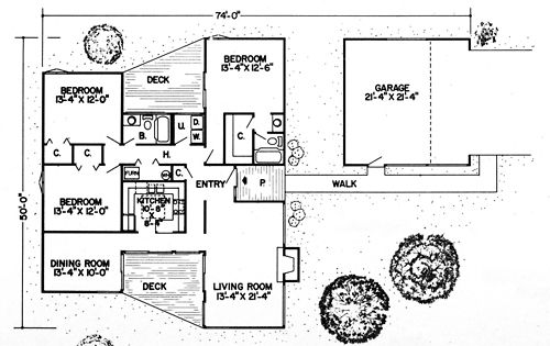 Single Level Amp Underground Home Plans Plan No 10284 Architecture Drawing Pinned By Www Modlar Com Underground Homes Architecture House Plans