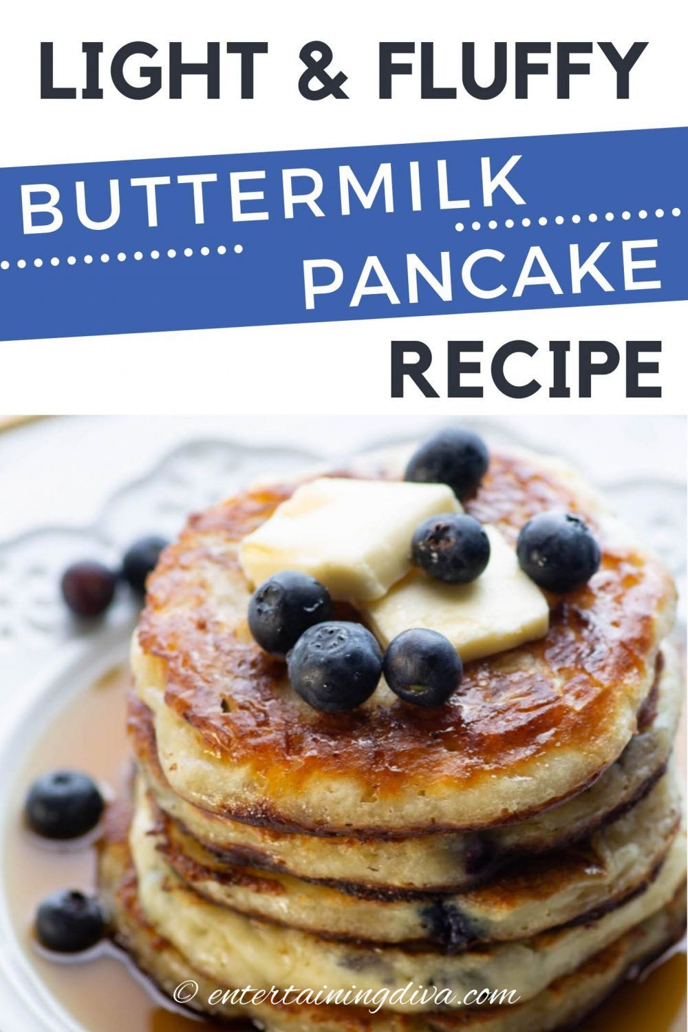 This Buttermilk Pancakes Recipe Is To Die For They Are So Light And Fluf In 2020 Pancake Recipe Buttermilk Buttermilk Pancakes Fluffy Fluffy Buttermilk Pancake Recipe