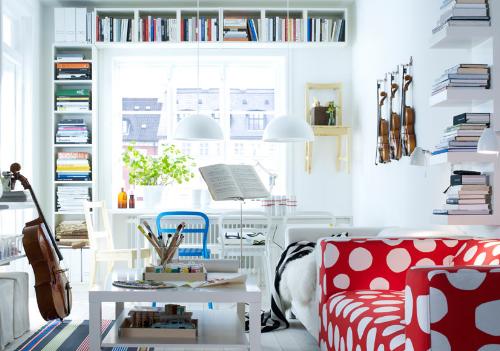 Bookshelf Ideas For Small Room