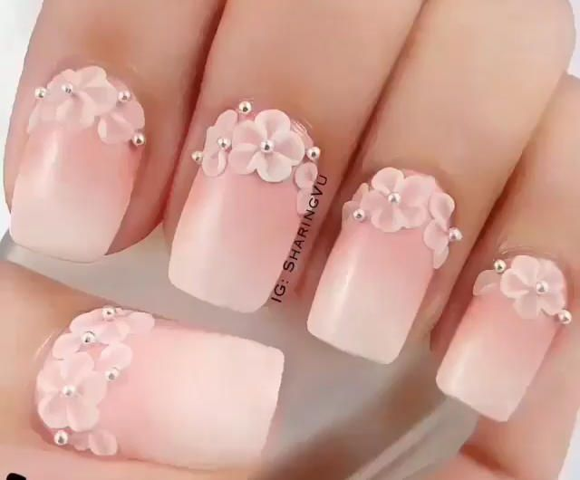Pin by sunita on ideal nails pinterest wedding manicure easy nail designs for beginners that are so cute and simple that you can do it yourself solutioingenieria Gallery