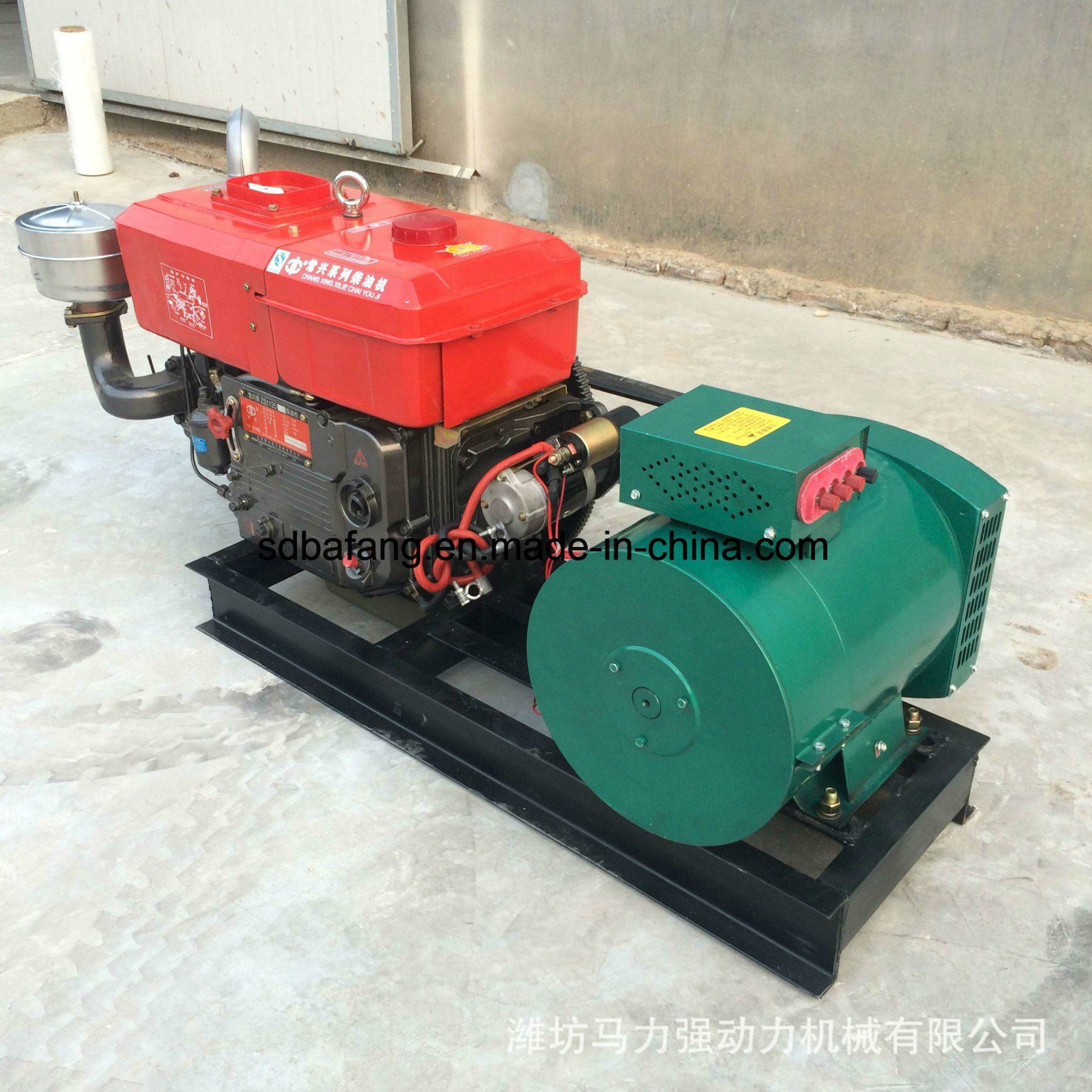 China Small 10kw Single Cylinder Water Cooled Electric Start Diesel Generator China Electric Generator D Small Diesel Generator Diesel Generators Generation