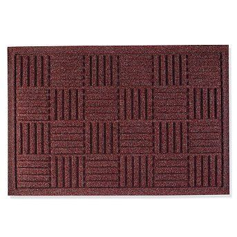 Water Dirt Shield Parquet Door Mat Green 21 1 2 X 31 1 2 Frontgate By Frontgate 39 50 100 Polypropylene Cons Monogram Door Mat Door Mat Frontgate