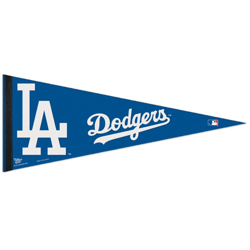 Los Angeles Dodgers Classic Pennant Carded Dodgers Los Angeles Dodgers Felt Pennants