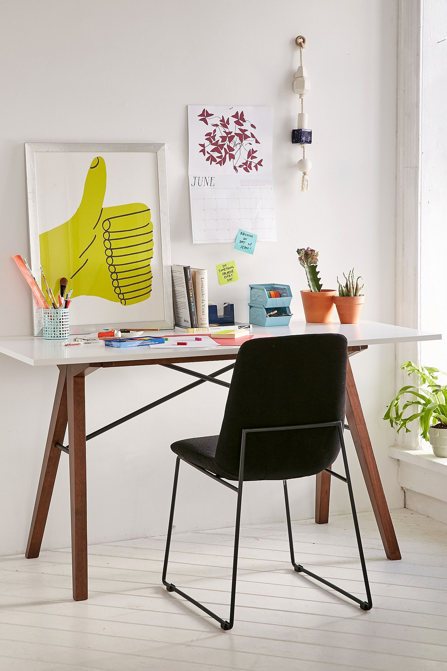 Saints Desk | Urban outfitters furniture, Rustic desk ...