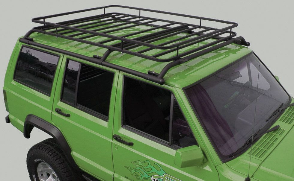 Olympic 4x4 Products Cherokee Xj Cherokee Xj Top Cargo Rack