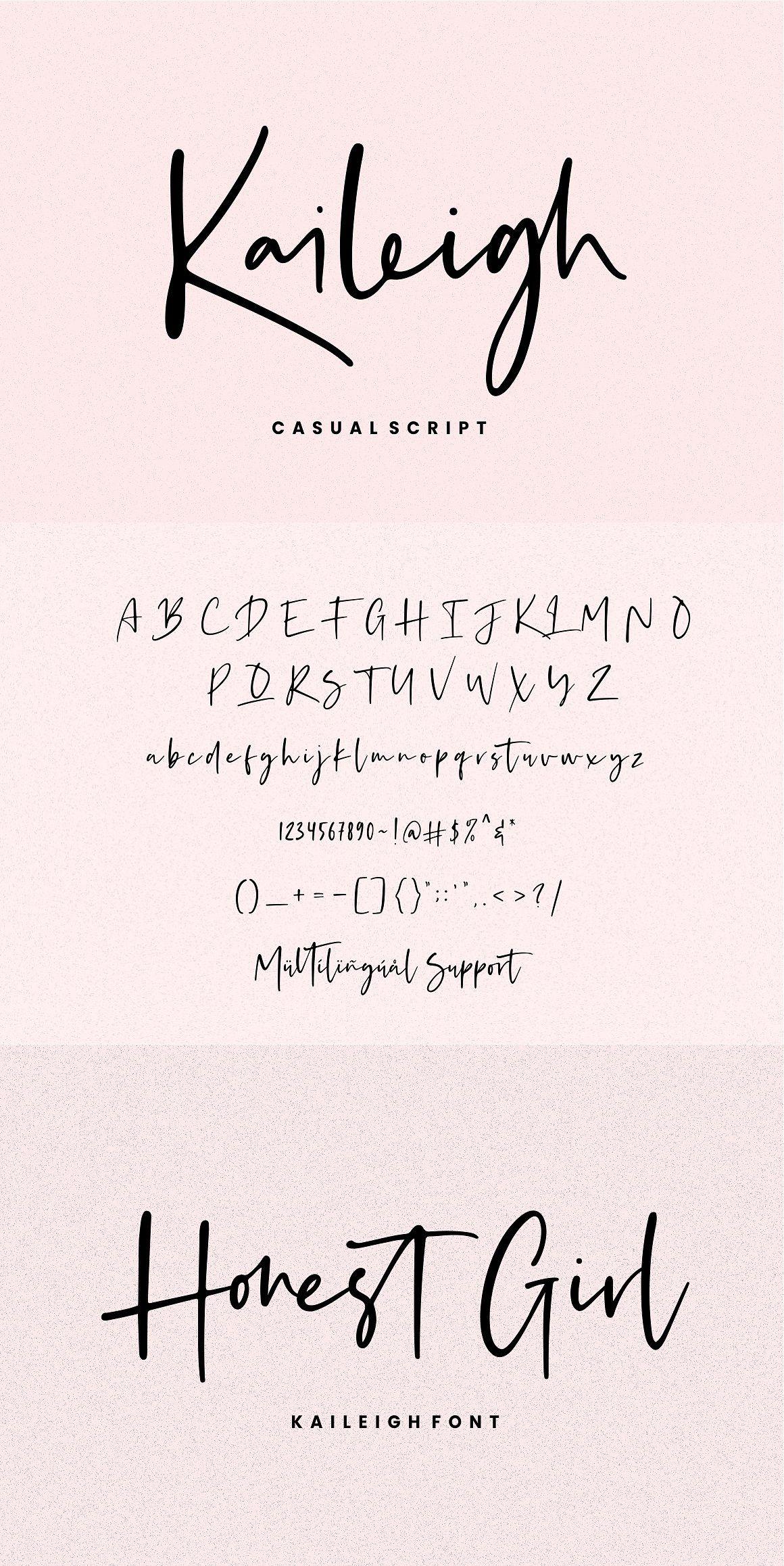 Kaileigh – Casual Script