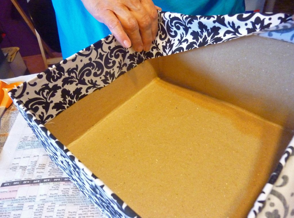 Wedding Card Box Ideas To Make Part - 29: Fabric Covered Box How To Http://www.craftsunleashed.com/bridal · Diy  Wedding Card ...