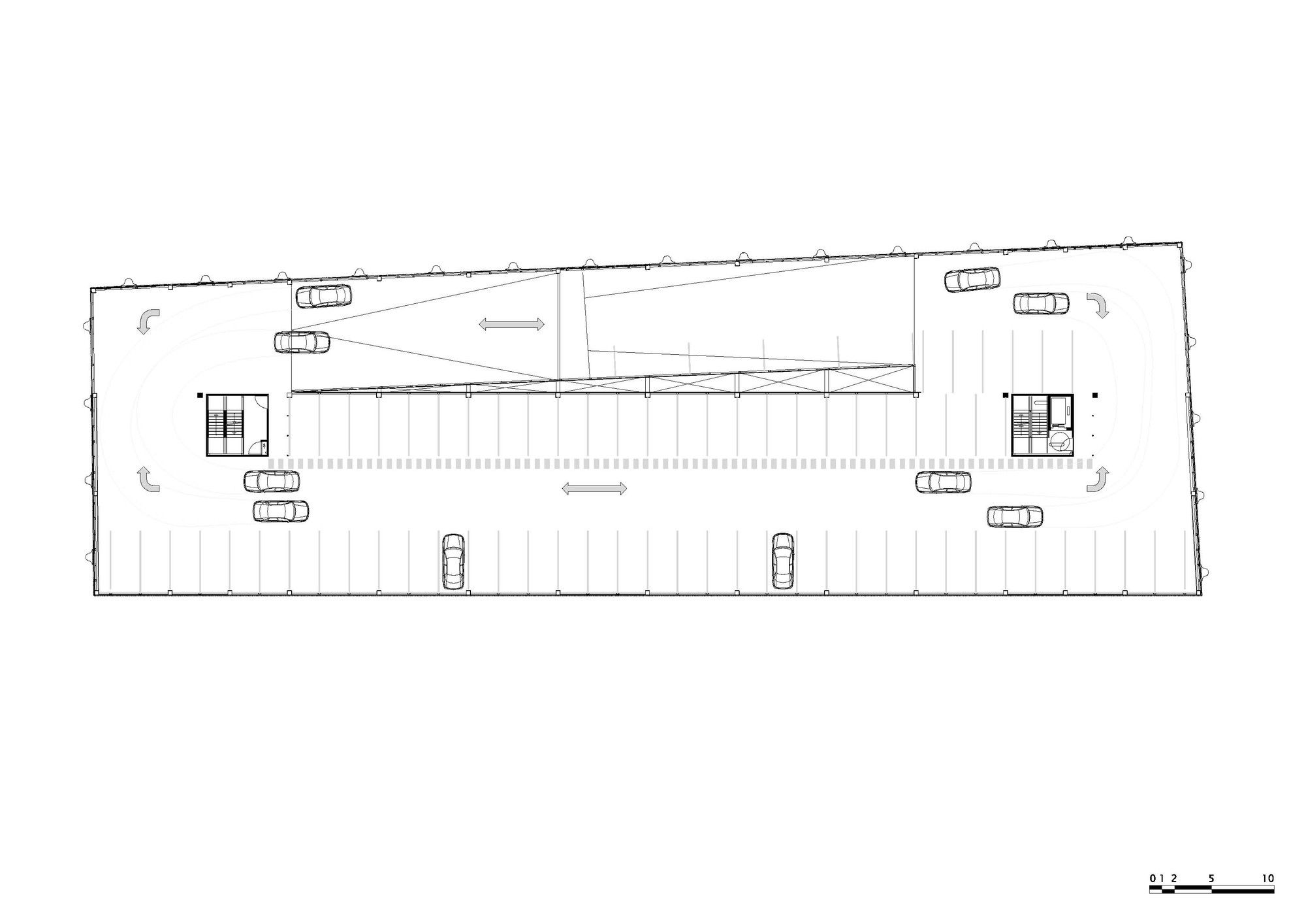 Gallery Of Gnome Parking Garage Mei Architecten 13 Garage Design Plans Parking Design Garage Design