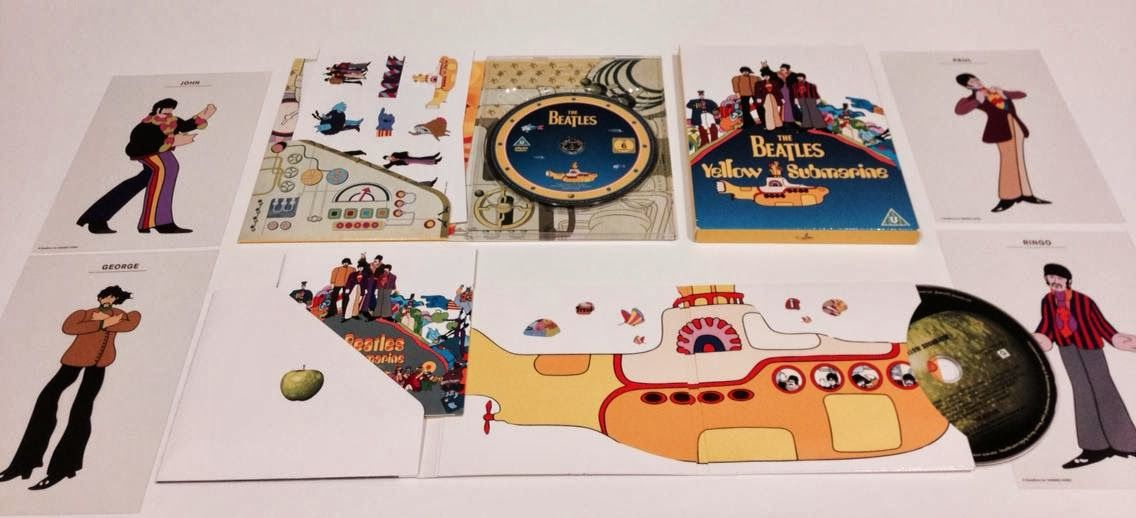 ♥ Yellow Submarine - Nothing is Real
