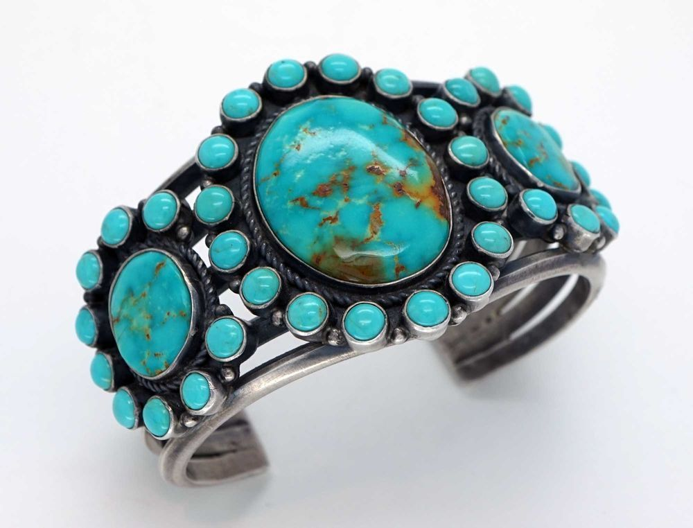 bracelet turquoise gallery navajo turquiose jewelry cerillos silver of history southwest blog the