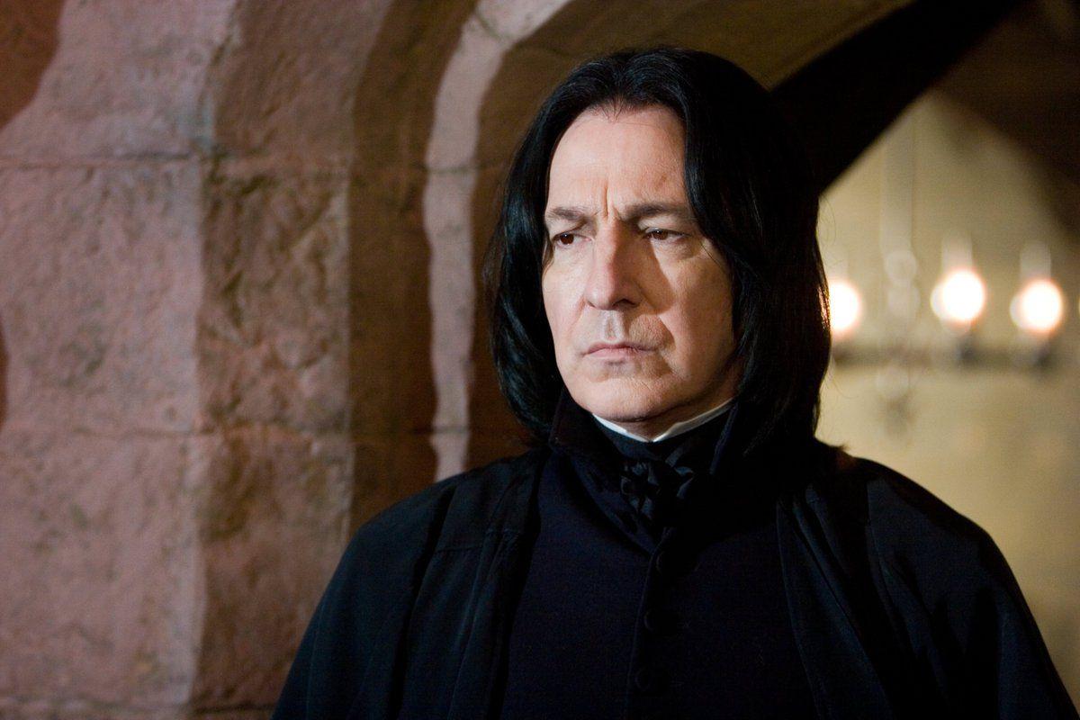 Eingebettetes Bild Harry Potter Quiz Severus Snape Alan Rickman