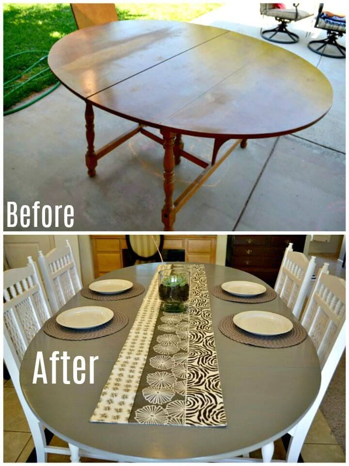 Easy Diy Dining Table Renovation Tutorial 75 Makeover Ideas To Upgrade Your Tables