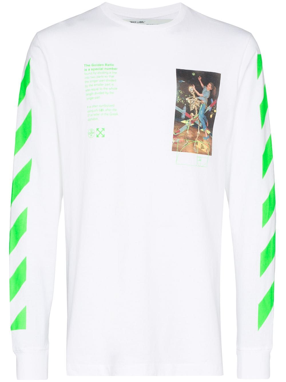 Off White Pascal Painting Sweatshirt Farfetch Designer Sweatshirts Sweatshirts Long Sleeve Sweatshirts [ 1334 x 1000 Pixel ]